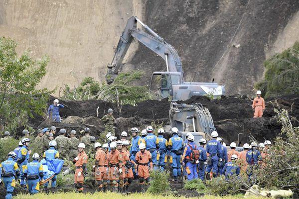 日本北海道地震共致44人死亡 救灾工作持续进行
