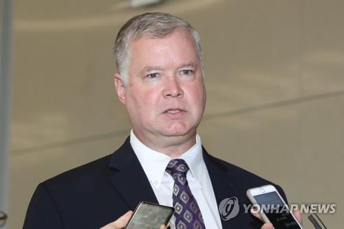 美国对朝鲜代表任内首次访韩,或捎来美国总统特朗普口信