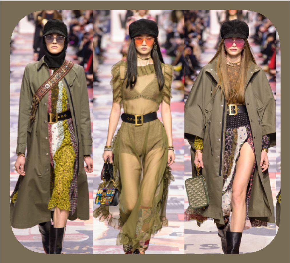 当我不知道穿什么的时候,唐嫣建议我看看橄榄绿