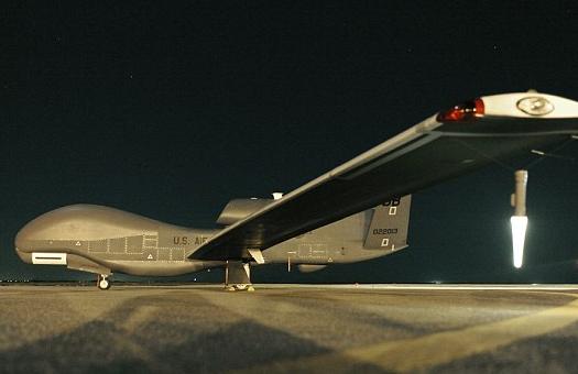 """美国""""全球鹰""""无人机又坠机 军方2个月后才承认"""