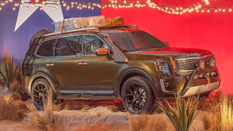 起亚Telluride SUV亮相纽约时装周 越野范儿十足
