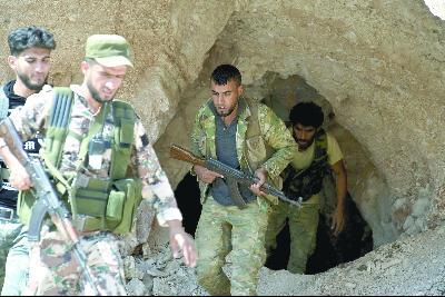 叙利亚博弈进入白热化 美俄在叙利亚剑拔弩张