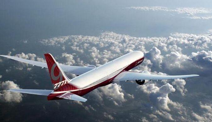 波音777X首架测试飞机下线 将用于静力测试