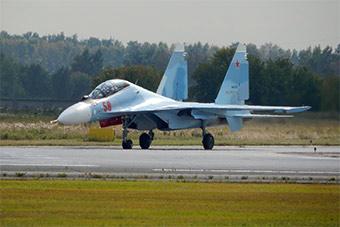 俄罗斯西部军区再接收一批苏30SM战斗机