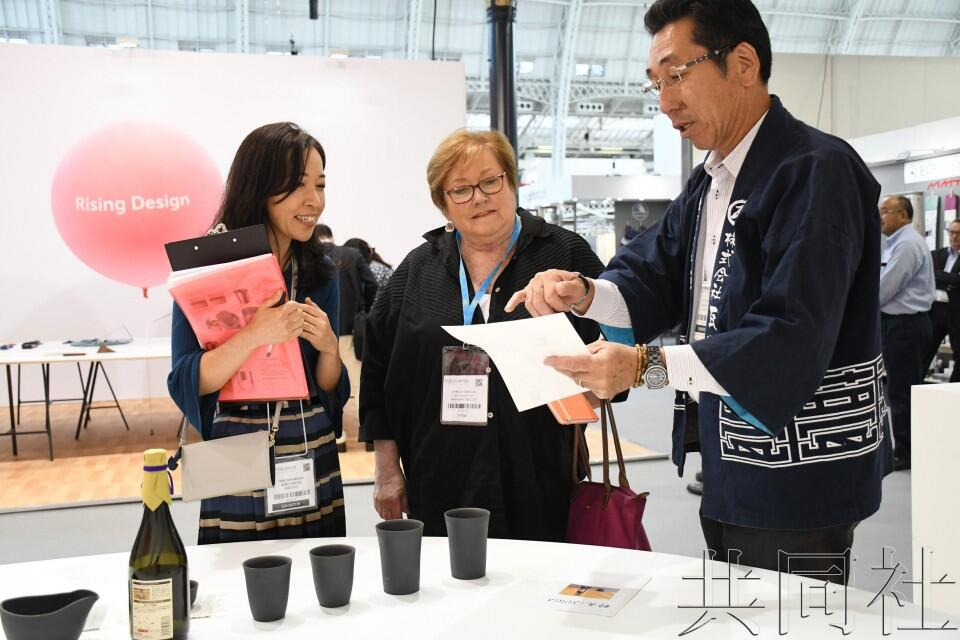 日本陶制酒器亮相英国设计展会 欲以简约取胜