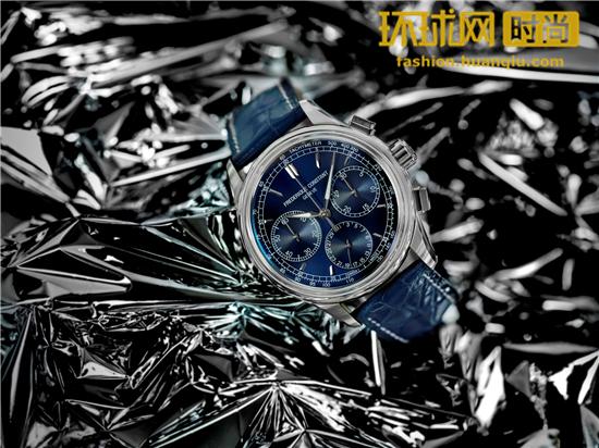 时尚新色 展现活力:康斯登推出新款自家机芯飞返计时腕表