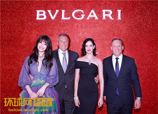 舒淇、Eva Green等众星闪耀亮相莫斯科BVLGARI宝格丽致敬女性回顾展