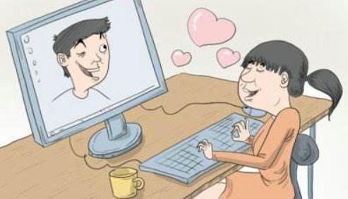 女子网恋8年花70万 对方却是自己同住5年的女室友