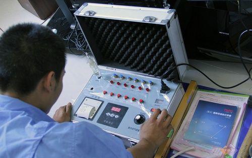甲醛检测水很深:设备可以调节 当客户面也能作假