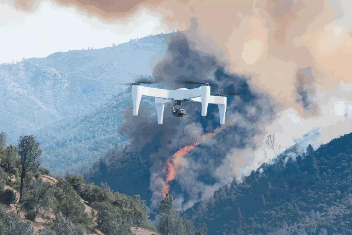 美无人机公司创新电池续航技术 最大航程2小时