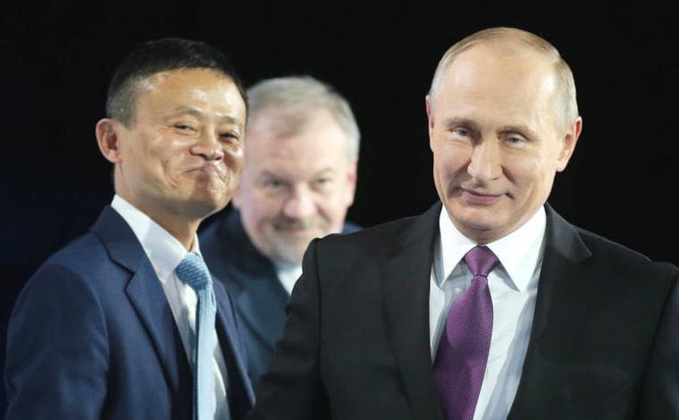 阿里与俄企业合作发展当地电商 普京:全力支持