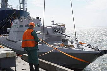 昔日造舰大国沦落至此:乌接受第二艘武装炮艇