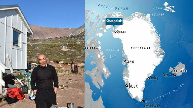 日本一爱冒险老人远离都市尘嚣隐居格陵兰小岛