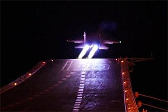 重磅!歼15舰载机已具备昼夜起降综合攻防能力