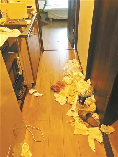 三游客被曝在日本住民宿乱扔垃圾