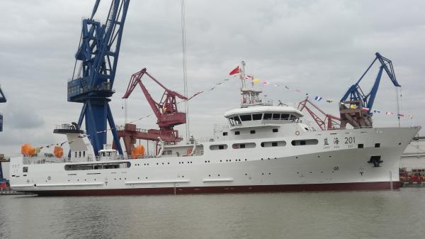 中国最大的两艘海洋渔业科考船下水,调查能力达国际先进水平