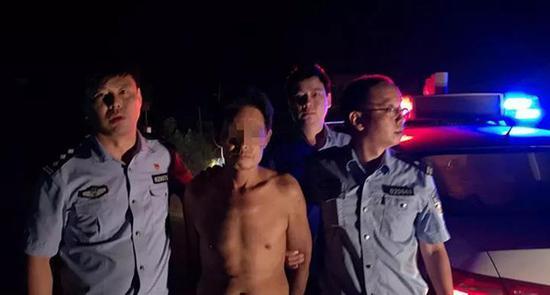 湖南衡阳警方:耒阳市黄市镇致2死2伤凶案嫌犯落网