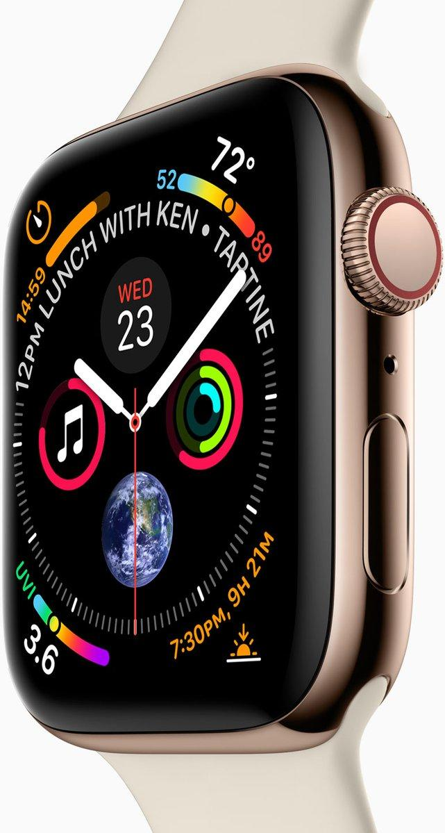 四代Apple Watch新细节曝光 采用64位处理器