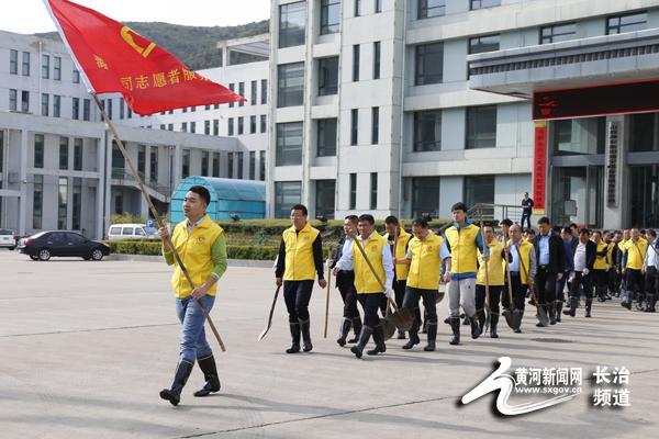 潞宁公司学雷锋志愿服务站开展环保志愿活动