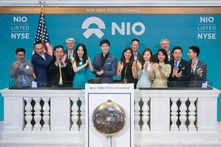 蔚来汽车IPO首日股价震荡:先跌后涨 振幅超25%