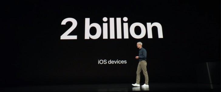 外媒:苹果即将推出其第20亿台iOS设备
