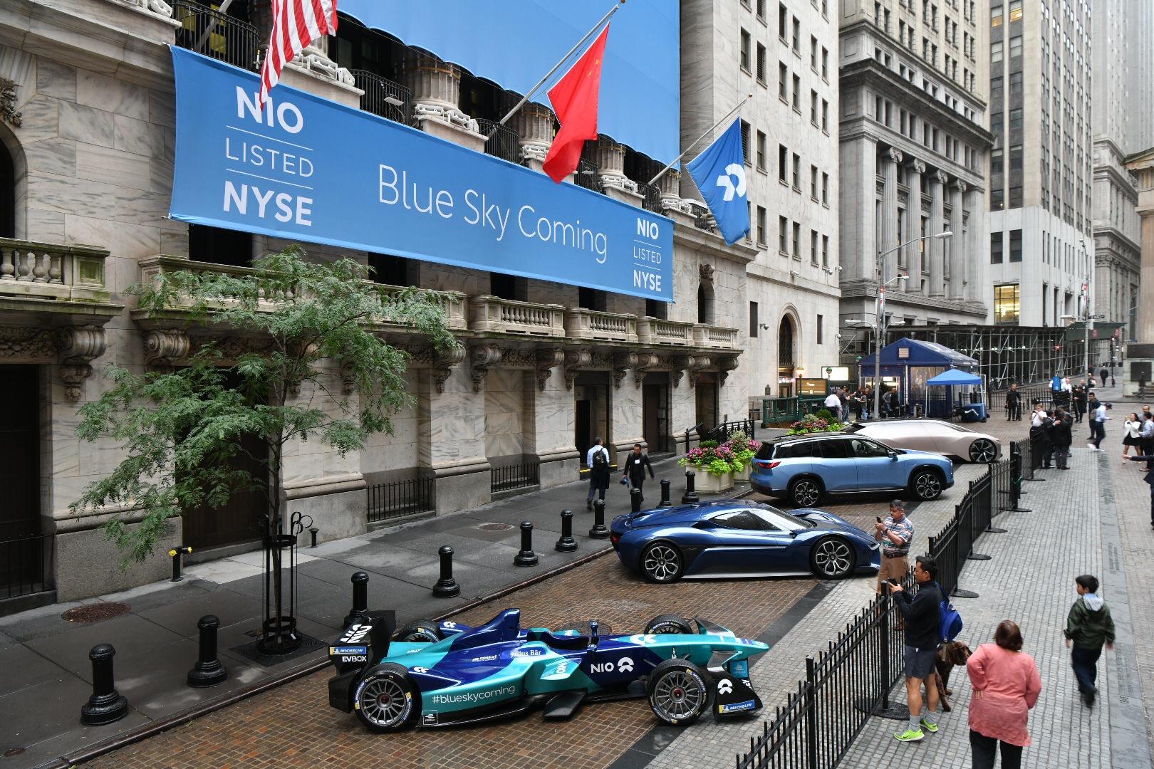 联想创投又一被投企业上市:蔚来汽车成功赴美IPO