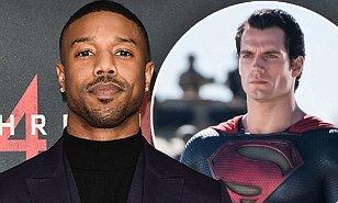 传《黑豹》男星迈克尔•B•乔丹将接任超人角色