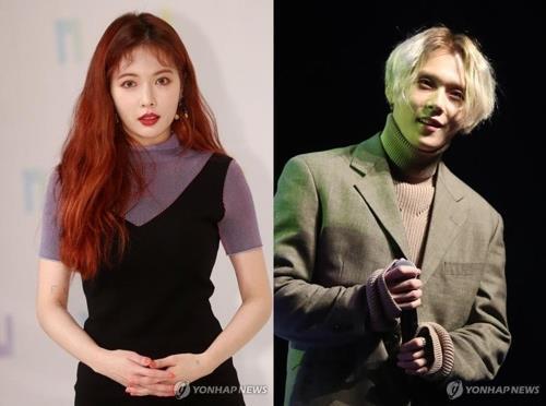 韩女星泫雅与男友双双遭经纪公司开除 称无法恢复信任