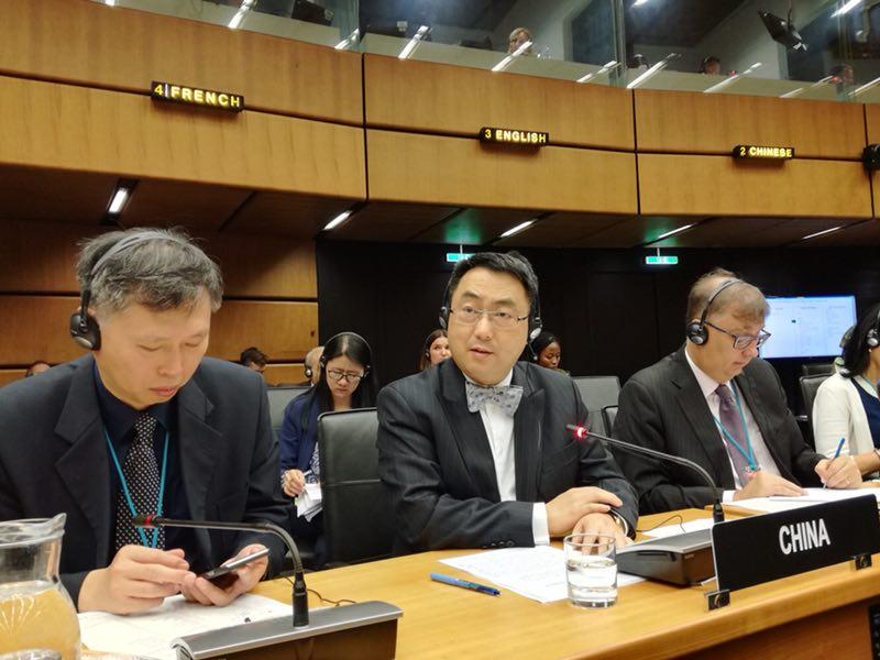 中国代表:中方将始终坚定支持和维护伊核协议