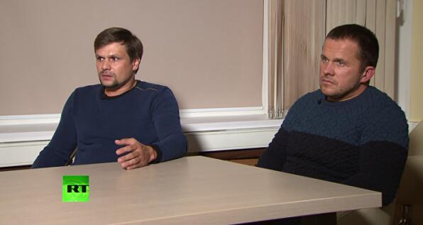 被英国指控下毒的两名俄嫌犯:我们只是游客