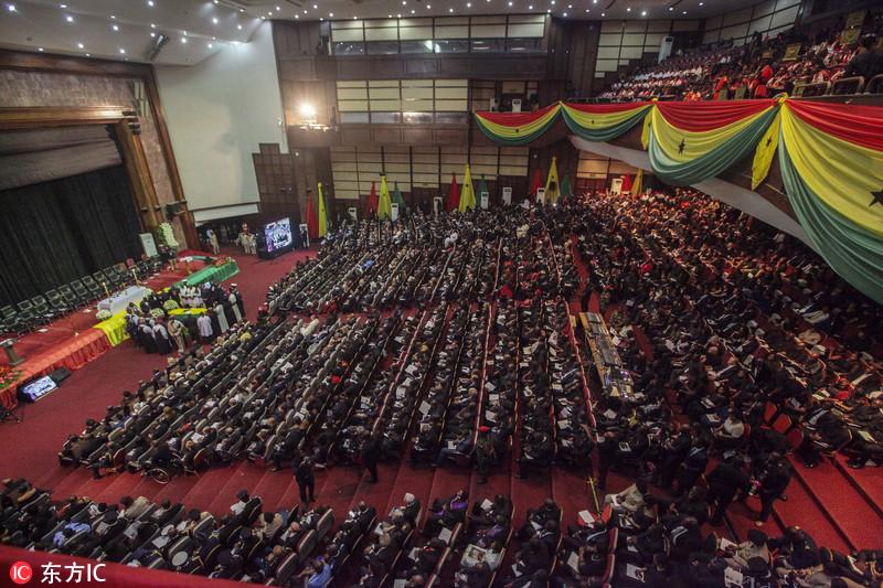 联合国前秘书长安南葬礼在其故乡加纳举行 多国领导人出席