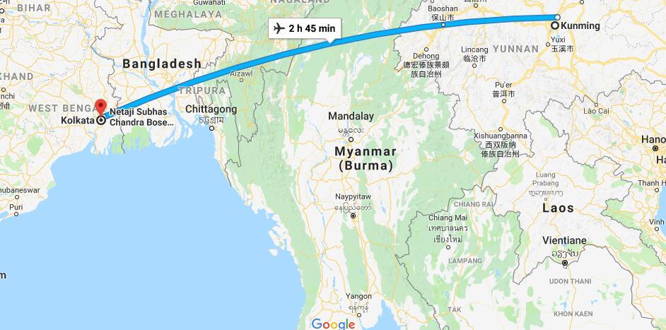 兴建一条连接昆明和加尔各答高铁?中国驻加尔各答总领事:好主意
