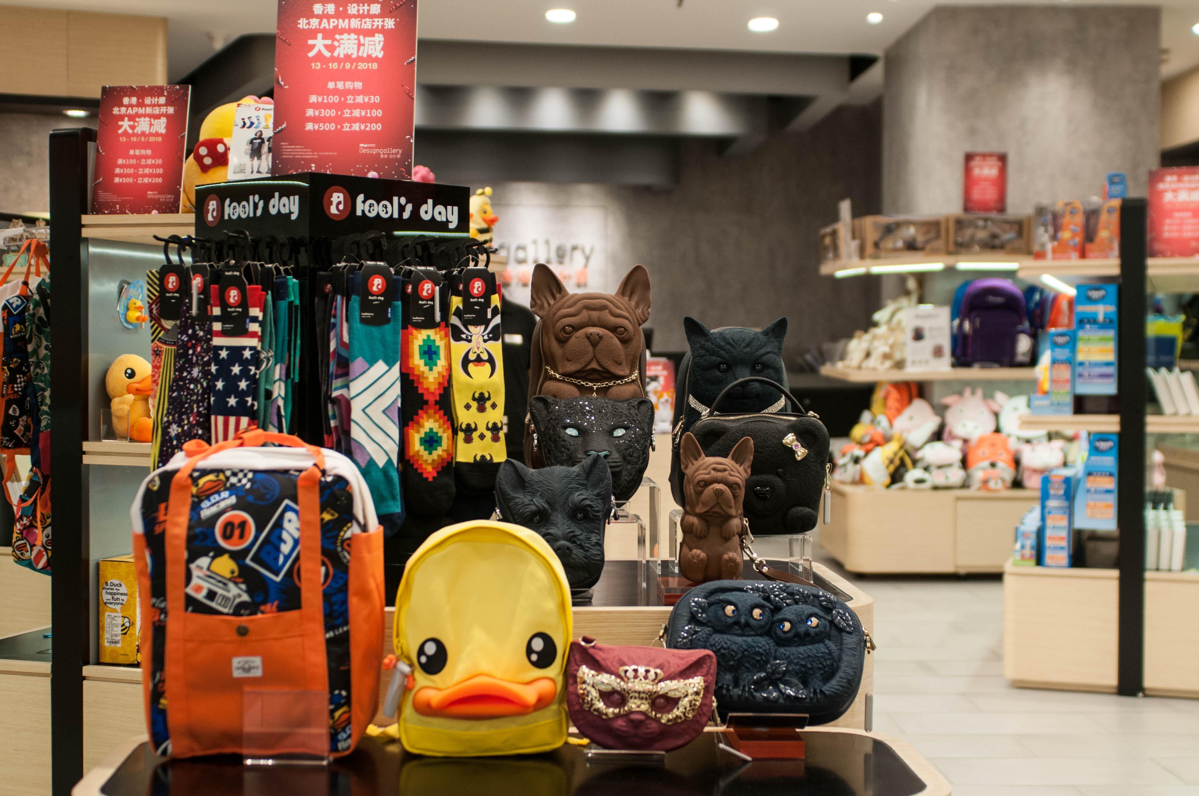 打造个性化体验感 文创产品成购物中心新风向标