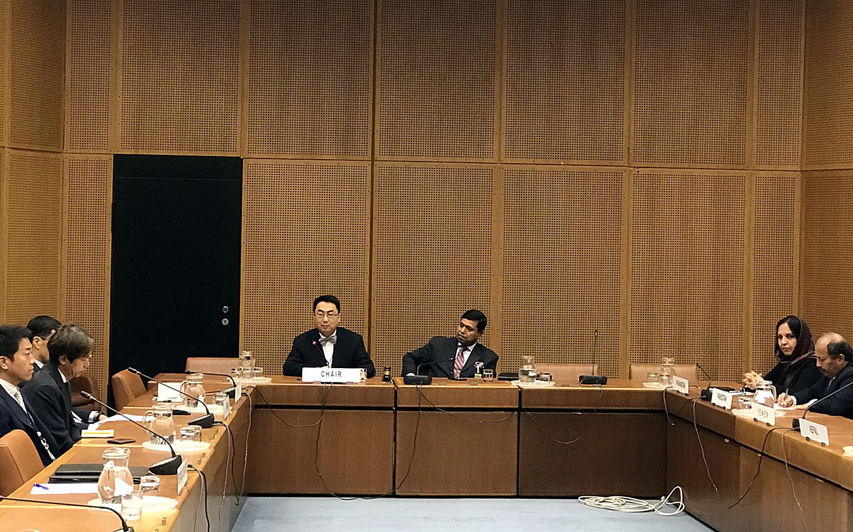 王群大使接任维也纳联合国亚太地区组主席