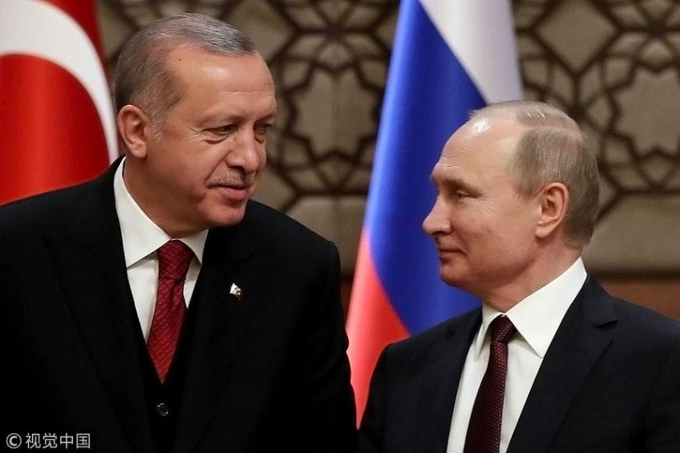 土耳其或将在叙利亚停火 马上就和普京谈
