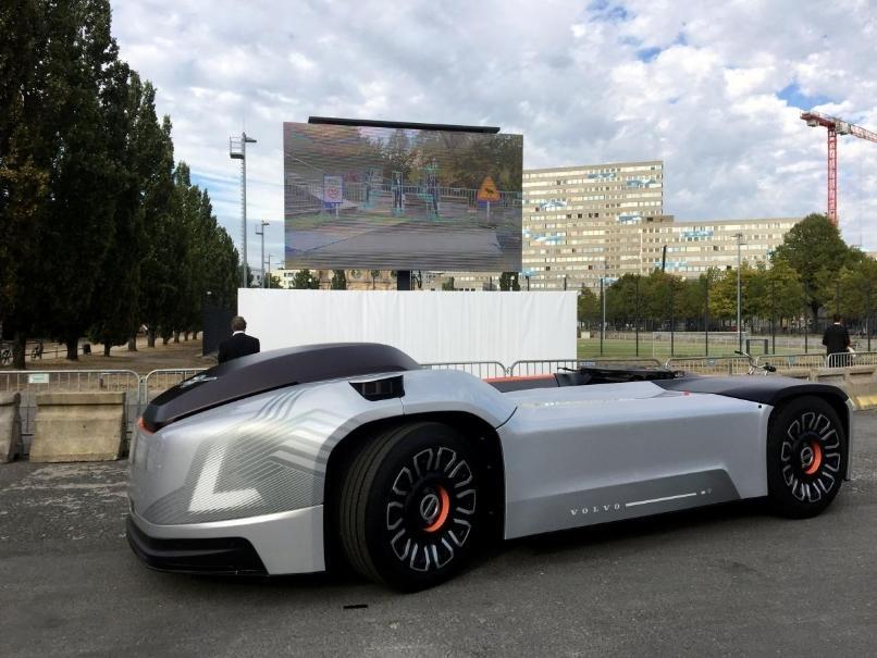 沃尔沃研发没有驾驶室的无人驾驶电动卡车