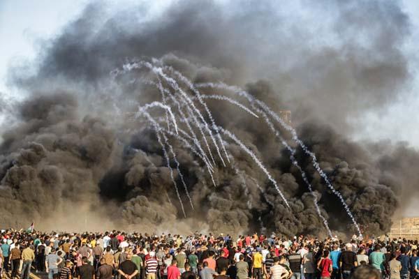 巴以边境再发流血冲突 造成三名巴勒斯坦人丧生