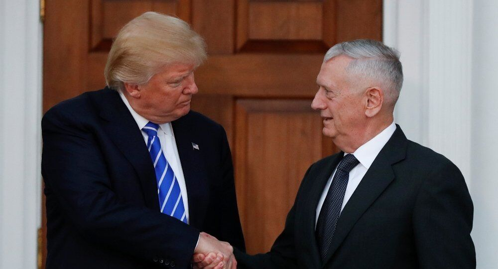 外媒:特朗普可能在美国中期选举后换掉国防部长