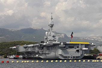 法国唯一核航母完成升级后首次出航
