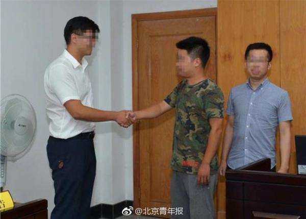 """浙江""""扶人被讹""""男子起诉案结案:法官调解4小时双方和解"""