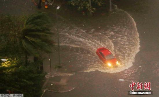 """强台风""""山竹""""在菲律宾肆虐 已造成菲25人死亡"""