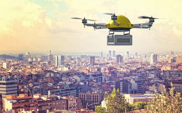 """消费级去年已占国内民用市场规模四成 无人机送货将成下一个""""风口"""""""
