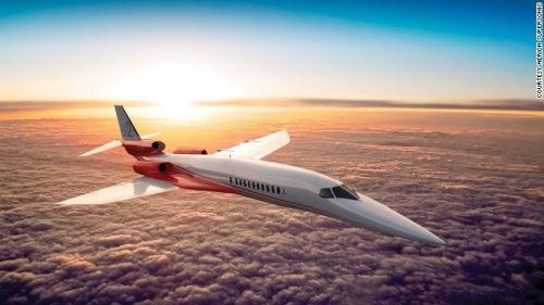 Aerion研发超音速喷气机 目标建立民航新市场