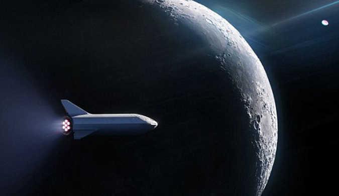 SpaceX计划将人类送至月球旅游 已有乘客报名