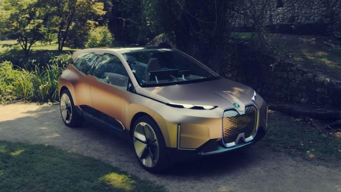 宝马发布Vision iNext概念车:量产版2021年到来