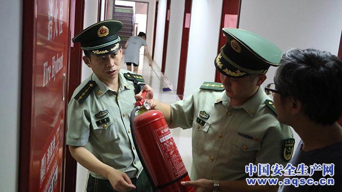 上海金山开展消防安全排查 督改隐患数7167处