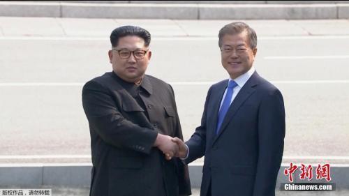 """韩朝首脑明日在平壤会晤 """"金文会""""将全球直播"""