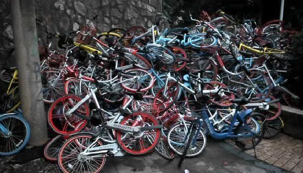 """共享单车""""禁投令""""满一年 西安街头仍见新品牌"""
