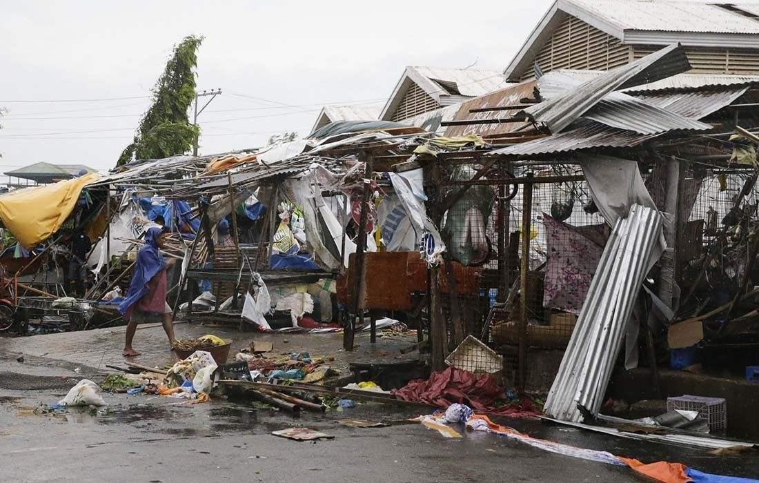 """""""山竹""""破坏力多大?过境菲律宾致至少64死 近百人恐遭活埋"""