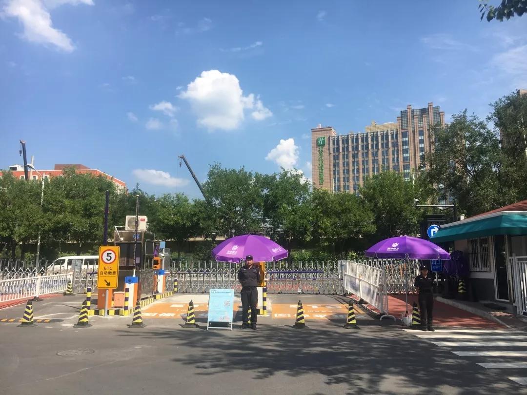 清华大学东三门今天正式启用
